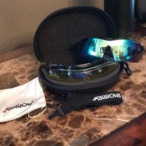 💥New! Farrova unisex polarized sports sunglasses.
